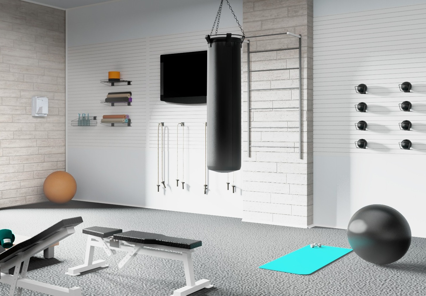 Garage Gym Design - Wall, Ceilings and Floor Protection